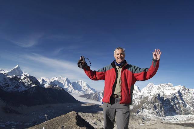 Dr. Harsha hiking