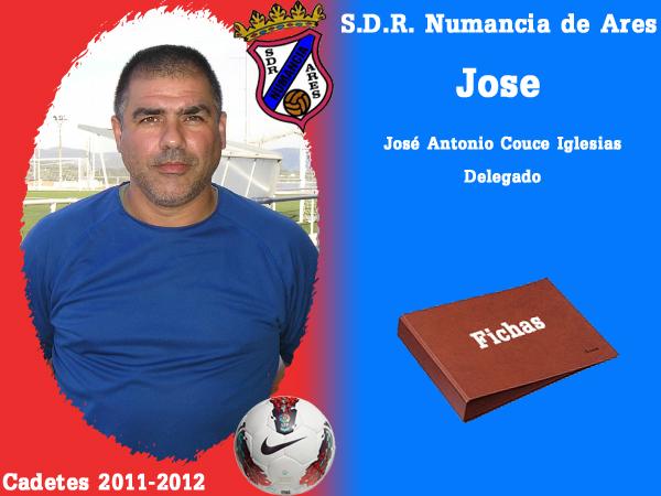 ADR Numancia de Ares. Cadetes 2011-2012. JOSE