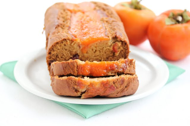 photo of a loaf of Persimmon Bread