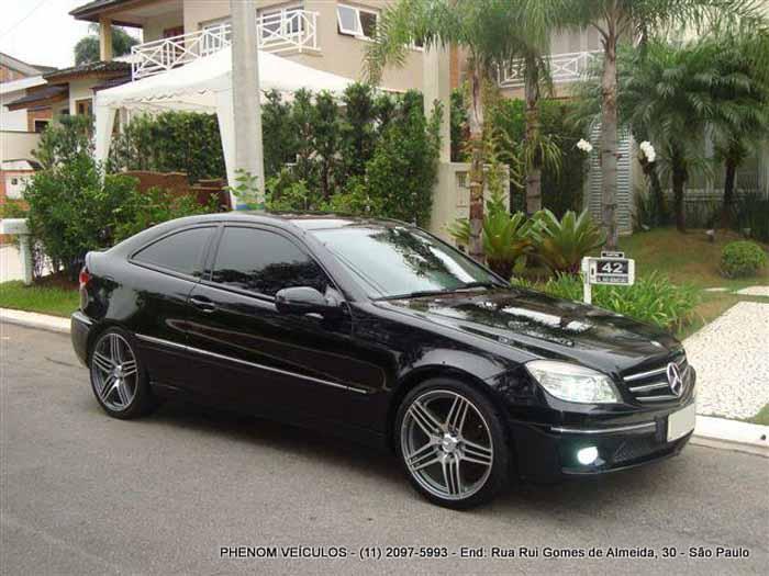 review mercedes benz clc 200k sports coupe 2009 usado car blog br. Black Bedroom Furniture Sets. Home Design Ideas