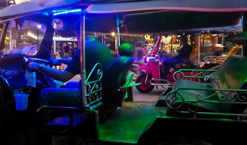 tuk-tuks - from Why I Love Chiang Mai
