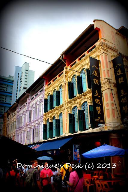 Street Scene in Chinatown