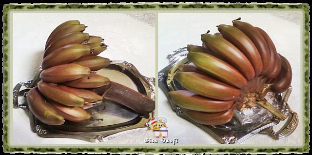 Banana caru ou roxa ou São Tomé