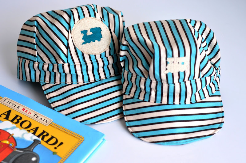 Aesthetic nest sewing engineer cap oh boy tutorial which is how i got to this pattern for a childs engineer cap in sizes medium heads 18 20 and large 21 23 pronofoot35fo Gallery