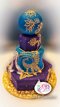 Creative Colorful Wedding Cake Designs Art Eats Bakery