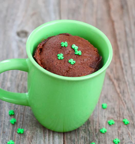 Chocolate Baileys Mug Cake