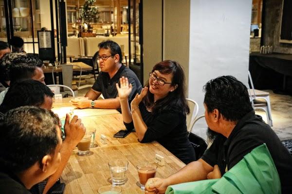 blogger bersembang bersama dengan wakil nestle