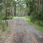 Entrance to White Tree Bay camping area