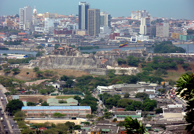 Cartagena from the Hills
