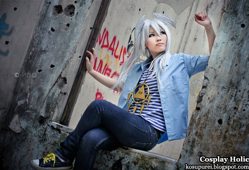 yu-gi-oh! cosplay - bakura ryou by shineueki33
