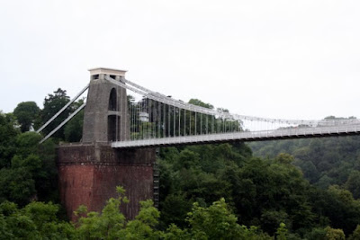 Clifton Suspension Bridge in Bristol England