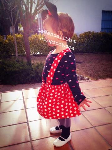 Disfraz fácil para niña