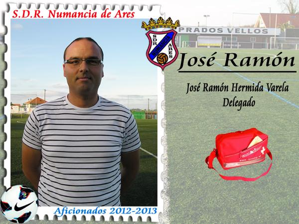 ADR Numancia de Ares. José Ramón