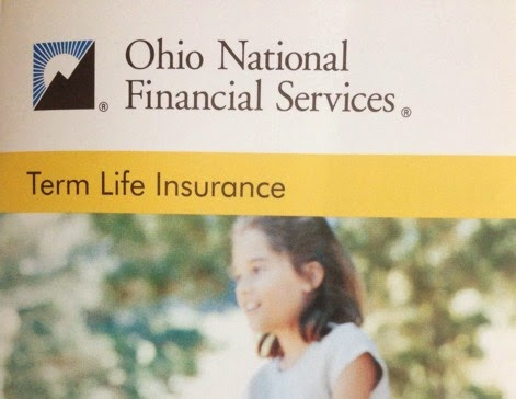 Ohio National term life brochure