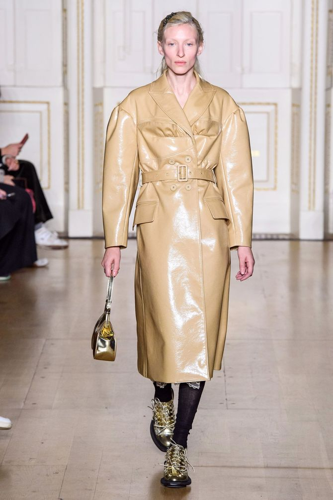 Leather raincoats 22