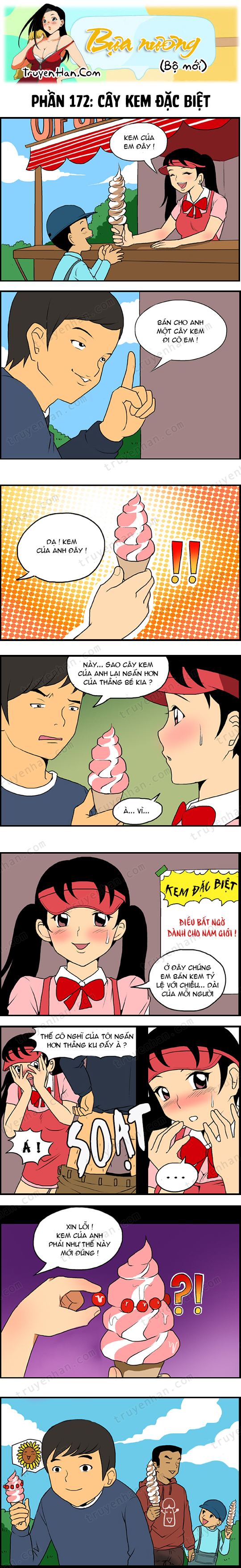 Bựa nương (bộ mới) phần 172: Cây kem đặc biệt