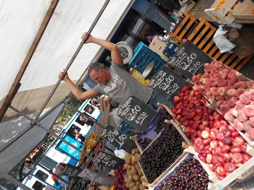 Fruttivendolo ad Amsterdam