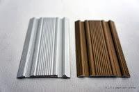 裝潢五金 品名:7053-平貼免溝槽軌道(雙槽) 規格:56m/m 顏色:鋁色/霧金色 玖品五金