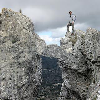 Bernia - cresta y cova de l'arc