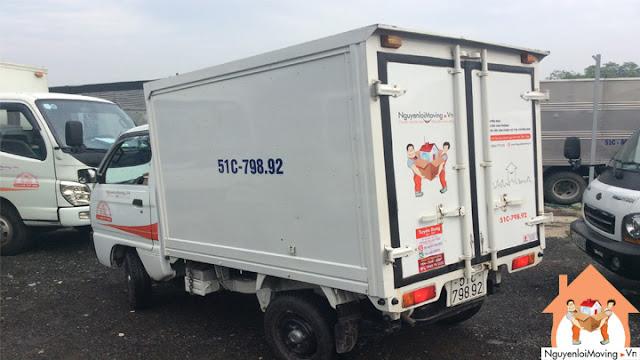 Hình ảnh thực tế taxi tải 500kg