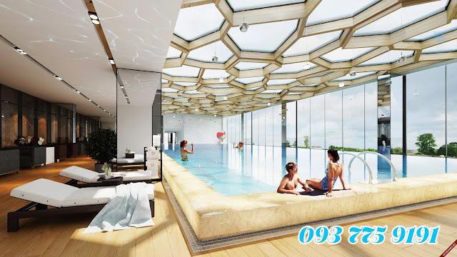 bể bơi bống mùa của MHD Trung Văn
