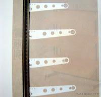 """裝潢五金 品名:1""""圓吊管支架 規格:30CM/35CM 顏色:銀色 玖品五金"""