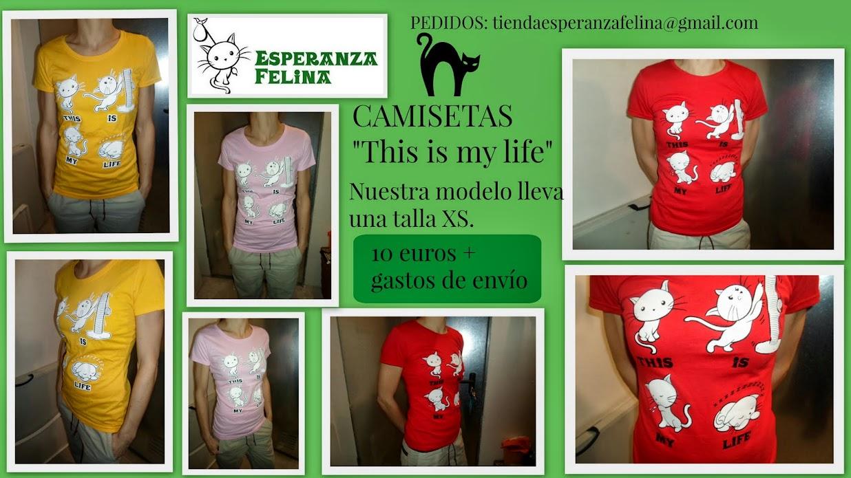 """Esperanza Felina en """"El Mercado de La Almendra"""" en Vitoria - Página 24 CAMISETAS"""