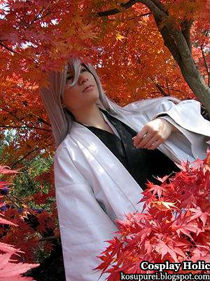bleach cosplay - ukitake jushiro