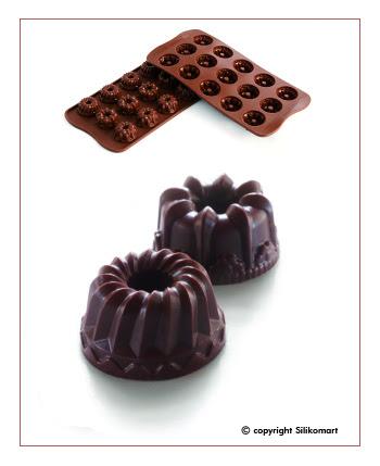 Cetakan Coklat SCG19-Mini Gugelhof