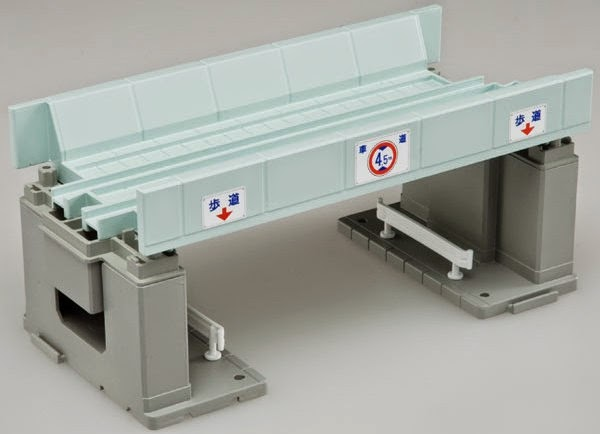 Sản phẩm Cầu vượt đường sắt J-06 Raised Cross Bridge