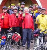Gruppenbild: GPS-Kursteilnehmer mit Thomas Froitzheim.