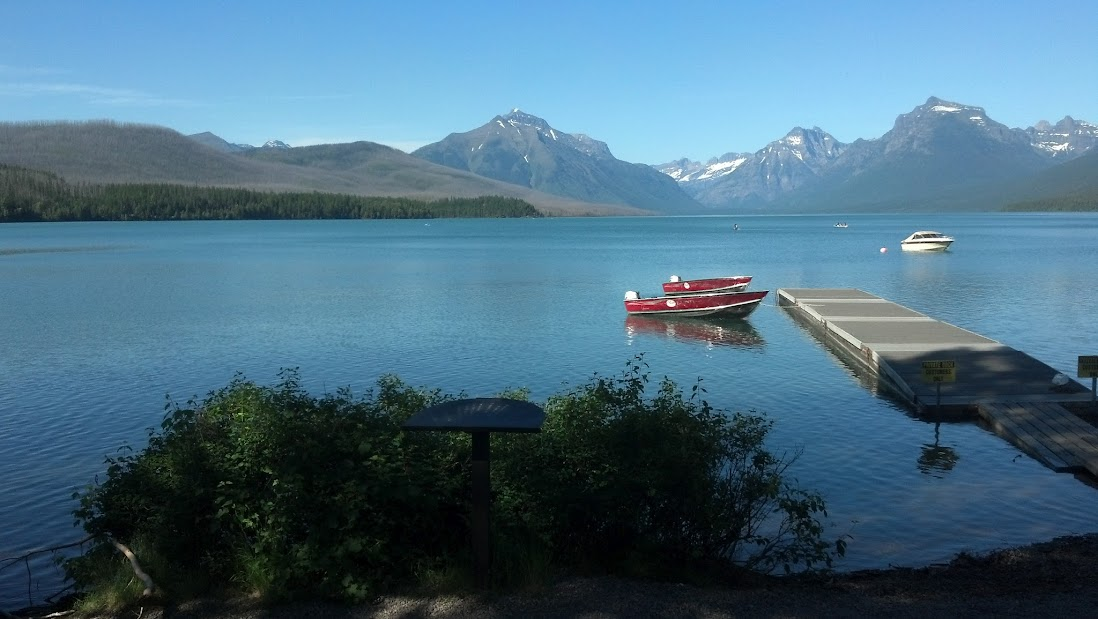 MacDonald Lake, Glacier National Park, July 2012