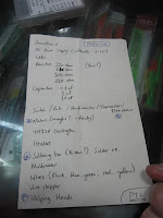 The shopping list!