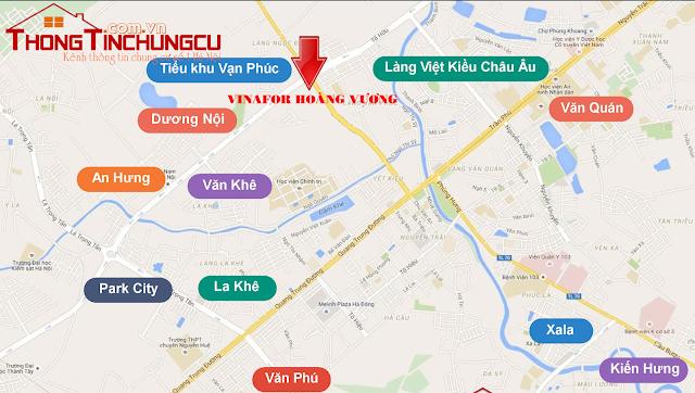 Vị trí đắc địa tại dự án chung cư Hanoi Landmark 51
