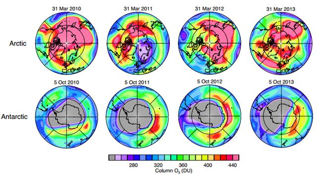 Se confirma la recuperación de la capa de ozono en 2014