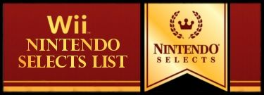 Nintendo Selects Wii Games List