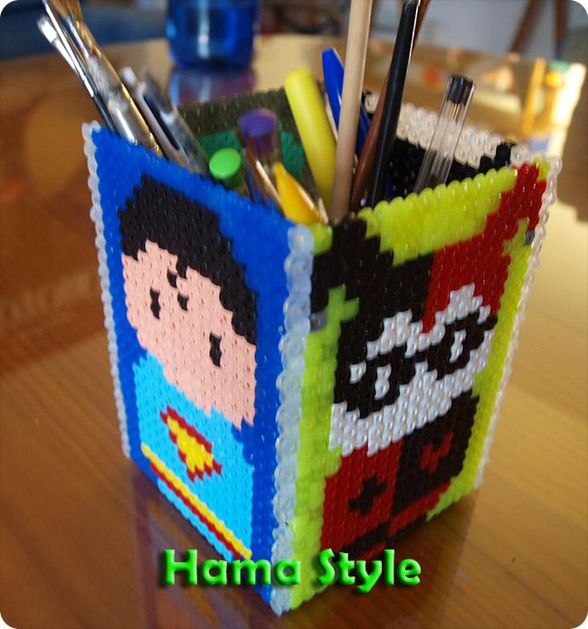 Trabajos 3D Hama Style Lapicero_batman_hama4