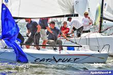 J/70 Catapult sailing off Annapolis