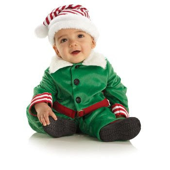Elf Boy Toddler or Infant Costume