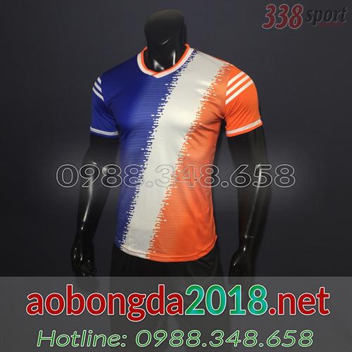 áo bóng đá không logo đẹp kappa hapu cam
