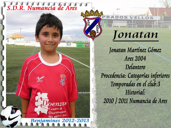 ADR Numancia de Ares. Jonatan.