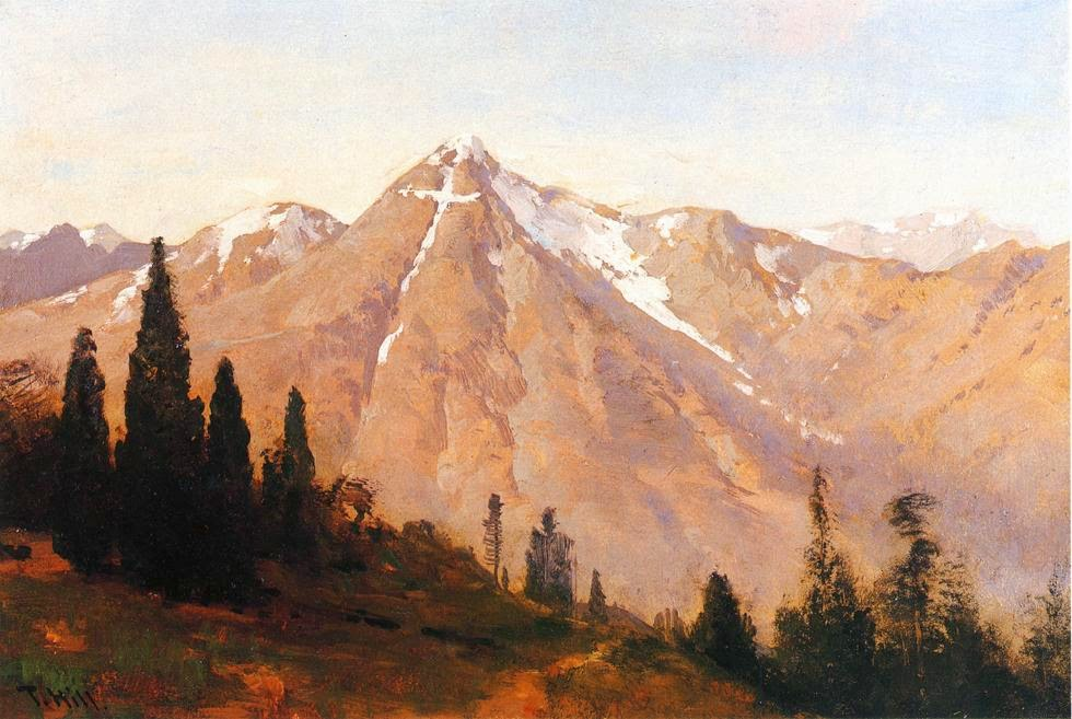 Thomas Hill - Mountain of the Holy Cross