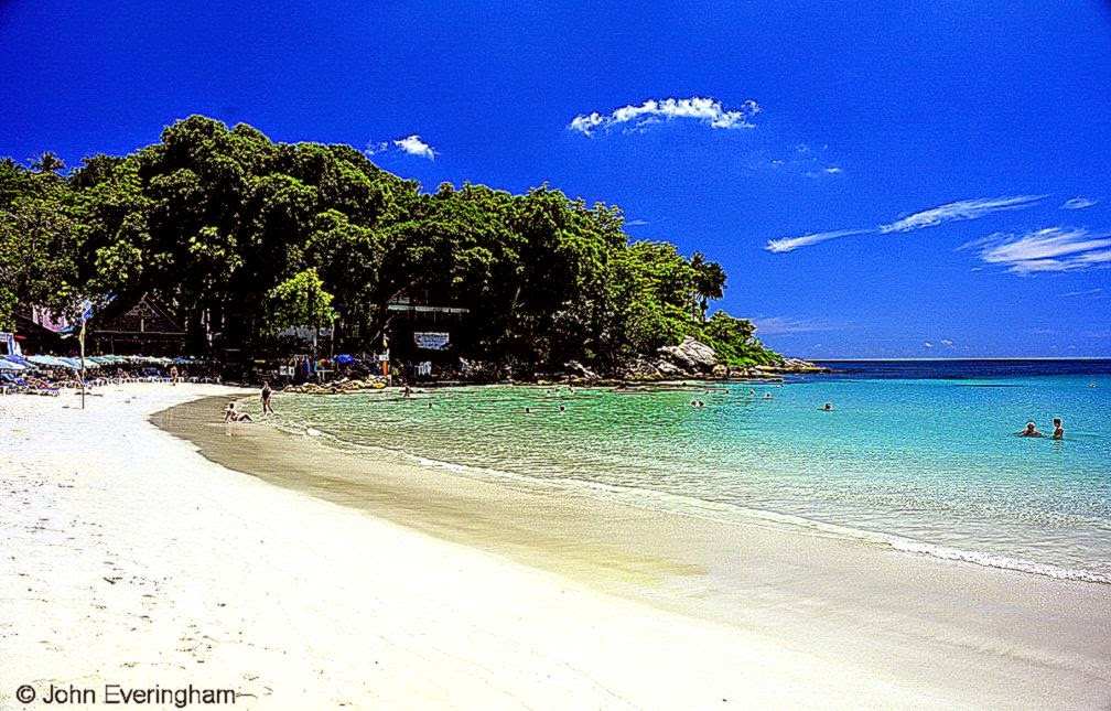 Kata Beach Phuket beach resorts travel info photos video
