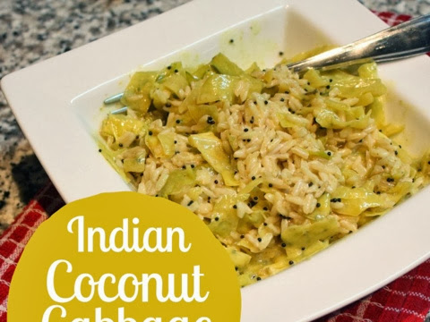 Indian Coconut Cabbage Curry
