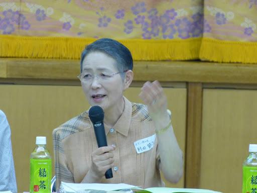 ぼだい樹の会村田節子事務局長
