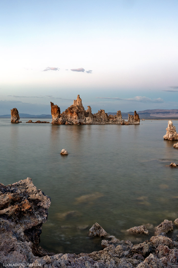 Road Trip Destinations USA - Mono Lake California.