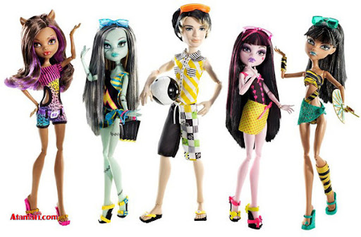 De Monster High Hay  Mattel Parece Una F  Brica De Churros