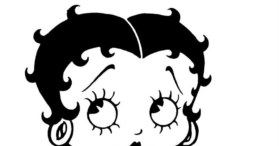 Pinto Dibujos: Imagenes de Betty Boop para colorear