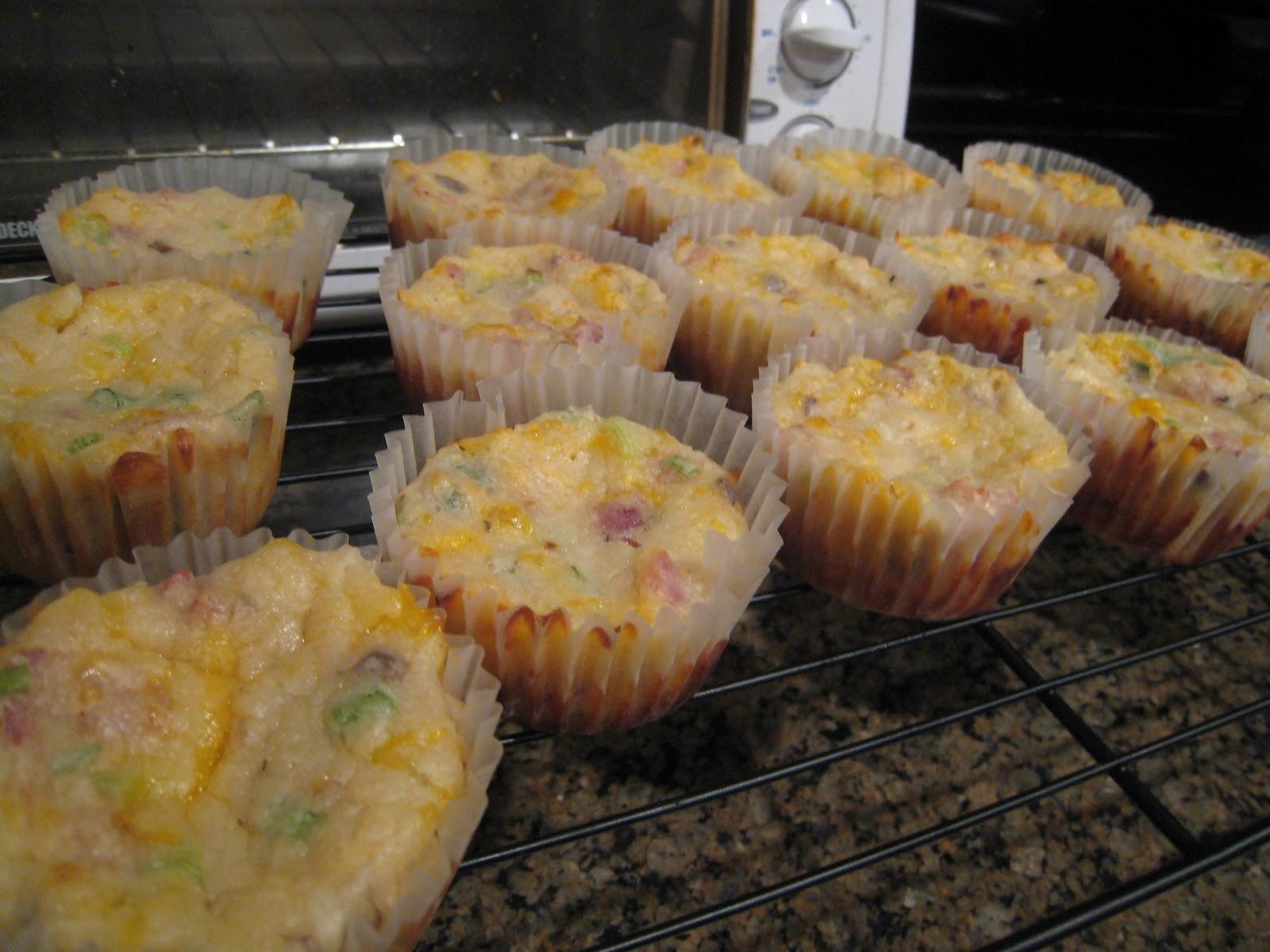 Spirals & Spatulas: Bacon Cheddar Chive Muffins