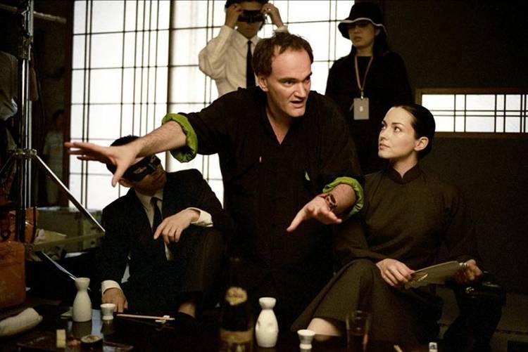 Quentin Tarantino vive con pasión cada una de sus películas